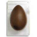 Moule oeuf en chocolat, 750 gr, 1 cavité, 195 x 295 x h 95 mm