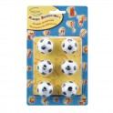 Soccer candle set 6 pieces