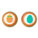 Caissettes mini cupcakes oeufs de Pâques, 100 pièces