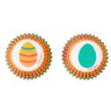 Wilton Mini Baking Cups Easter eggs, 100 pieces