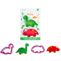 Decora - Cookie Cutter dinosaurs, set of 2