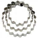 Staedter - Terrace cookie cutter ring waver. 3 pieces