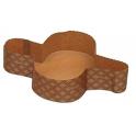 Decora - Moule papier pour colombe de 1 kg, 5 pièces