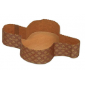 Decora - Papierform für Colomba (750 g), 5 Stück