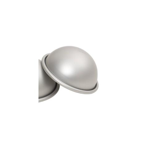 Moule gâteau hémisphère en aluminium, 7 cm