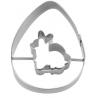 Ausstechform Ei mit Hase, 7 cm