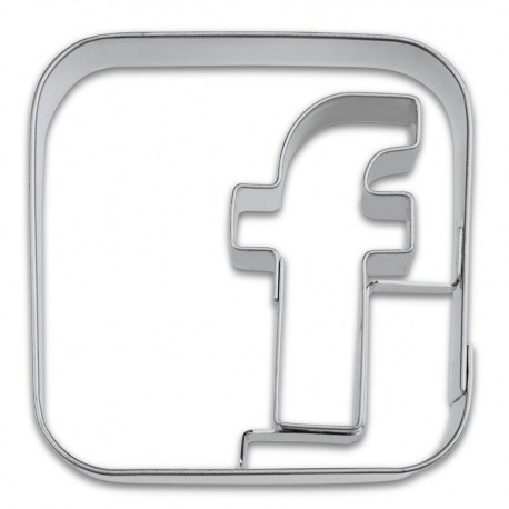 Emporte-pièce - réseau social, 5 cm