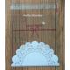Sachets individuels à friandise blanc, env. 10 x 10 cm, 10 pièce