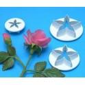 PME Ausstechform Blütenkelch klein, 3er Set