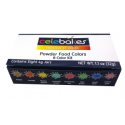Celebakes - Powder colors, set of 8