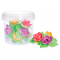 ScrapCooking -  Wafer decoration, 8 roses