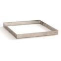 Decora - Tart shape perforated square, 15 X 15 X 2 H CM