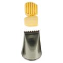 Douille en acier inoxydable 897 / 1D (panier)