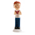 Communion boy topper, 12.5 cm