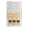 Décora Moule petits oeuf en chocolat, 24 cavités, 24 x 17 mm
