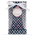 """Staedter -  Gift bag set """"All you need is Cake"""", 6"""