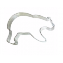 Cookie Cutter bear, 133.35 x 95.25 mm