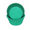 Mini Cupcake Cups green, 50 pieces