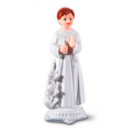 Communion boy with candle topper