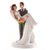 Dekora - Wedding cake topper woman in arms