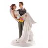 Dekora - Wedding cake topper woman in arms