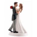 Figurine mariés valse