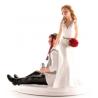 Dekora - Wedding cake topper drunk couple