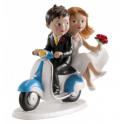 Dekora - Wedding cake topper moto couple