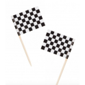 Racing checkered Flag Pic, 50 pieces
