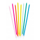Tall Rainbow Candles, 16 pieces