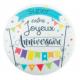 ScrapCooking - Disque azyme Joyeux Anniversaire, 15 cm