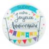 ScrapCooking - Wafer disk Joyeux Anniversaire, 15 cm