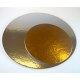 Cake Board Golden and Silver,  diameter 16 cm, 3 pieces