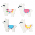 Culpitt Icing Decorations llamas, 12 pieces