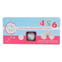 Cake Star - Emporte pièce chiffres à piston MINI, en plastique, 10 pièces