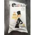 Smartflex - pâte à sucre noir, 1 kg
