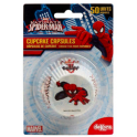 Cupcake baking cups Spiderman, 50 pieces