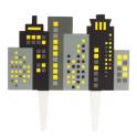 Culpitt - Topper horizon de buildings, 130 mm