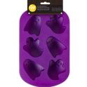 Wilton - Silicone Mini Ghosts Mold, 6 cavities