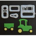 FMM - Emporte-pièce tracteur, set de 4