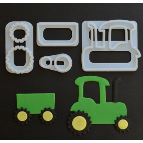 FMM - Tractor Cutter, set of 4