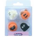 Culpitt Icing Decorations Halloween, 12 pieces