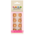 Funcakes - Sugar decoration Gold stars, 24 pieces