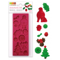 Scrapcooking - Silicone mold Christmas