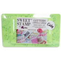 Sweet Stamp - Curly letters model