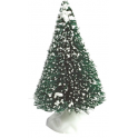 Small snowy tree, plastic, 2 pieces