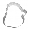 Cookie cutter Santa Face, 10 cm