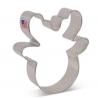 Cookie cutter Santa Face, 10 cm