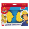 Cookie Cutter Sam the fireman, set of 2
