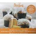 Decora - Sachets grand (panettone/pandoro/colomba), 5 pièces